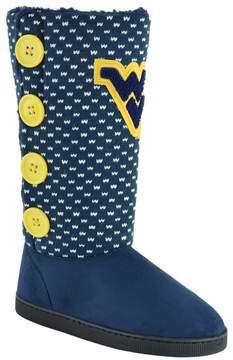 NCAA Women's West Virginia Mountaineers Button Boots
