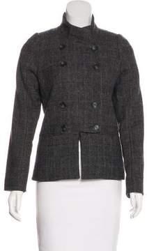 Veronique Branquinho Wool Notch-Lapel Jacket