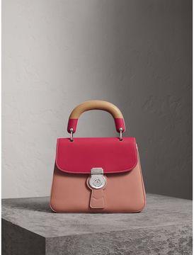 Burberry The Medium DK88 Top Handle Bag with Geometric Print