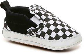 Vans Boys Checkered Slip-On Infant Crib Shoe