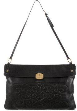 Maiyet Embroidered Leather Shoulder Bag
