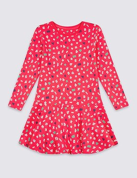 Marks and Spencer Pure Cotton Dress (3 Months - 5 Years)