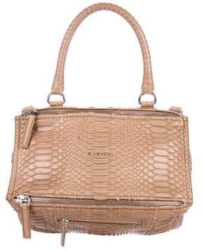 Givenchy Python Medium Pandora Bag
