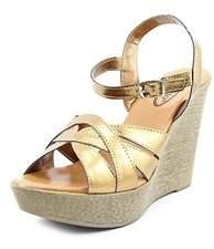 Callisto Womens Dessy Open Toe Casual Platform Sandals.