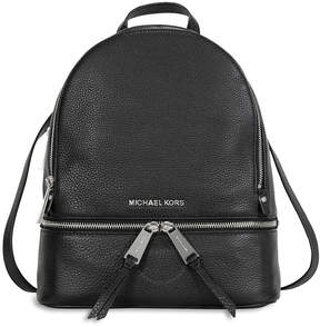 Michael Kors Rhea Leather Backpack - Black - ONE COLOR - STYLE