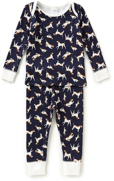 Starting Out Baby Boys 12-24 Months Dog-Print Top & Pants Pajama Set