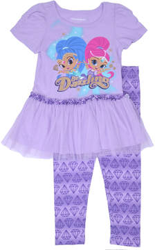 Nickelodeon Shimmer and Shine 2-pc. Pant Set Girls