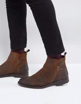Aldo Gerone Suede Zip Boots