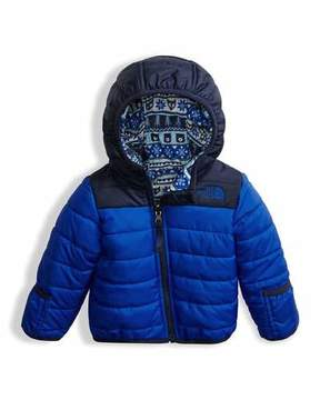 The North Face Reversible Perrito Quilted Jacket, Blue, Size 3-24 Months