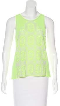 Dagmar Neon Knit Top