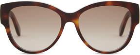 Saint Laurent M3 tortoiseshell oval-frame sunglasses
