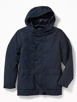 Old Navy Water-Resistant Hooded Rain Jacket for Boys