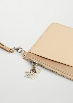 Mango Outlet Saffiano-effect purse