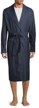 Hanro Henry Dot-Print Robe