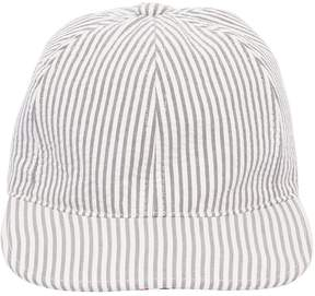 Thom Browne Seersucker Baseball Hat
