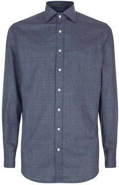 Hackett Prince of Wales Collar Shirt