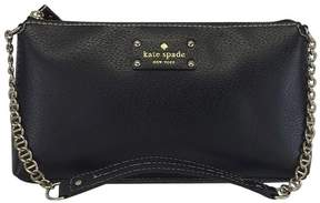 Kate Spade Black Leather Handbag - BLACK - STYLE