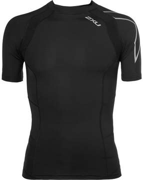 2XU Tr2 Mesh-Panelled Compression T-Shirt