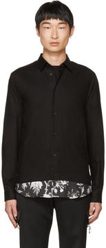 McQ Black Shields Shirt