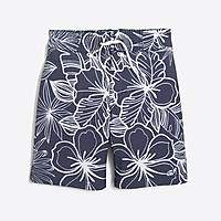 J.Crew Factory Boys' flex printed board short