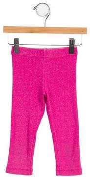 Lili Gaufrette Girls' Metallic-Accented Knit Pants