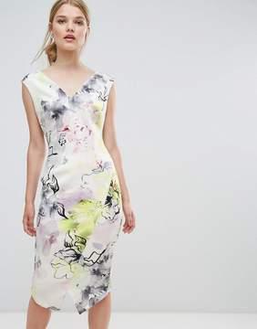 Coast Mirabeau Printed Scuba Shift Dress