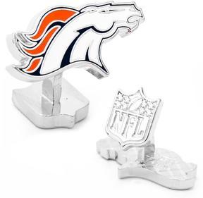 Ice Palladium Denver Broncos Cufflinks
