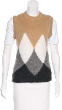 Celine Argyle Sweater Vest