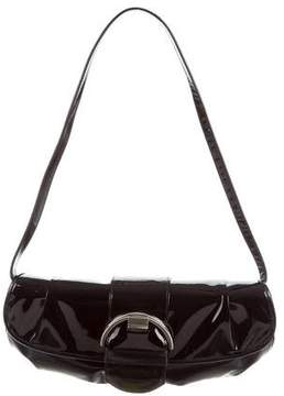 Stuart Weitzman Patent Leather Shoulder Bag