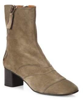 Chloé Lexie Suede Block Heel Boots
