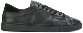 D.A.T.E star embossed sneakers