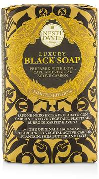 Nesti Dante Luxury Black Soap With Vegetal Active Carbon (Limited Edition)