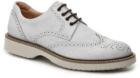 Hogan Men's Distressed Leather Wingtip Oxford