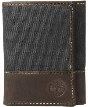 Timberland Baseline Canvas Trifold Wallet Handbags