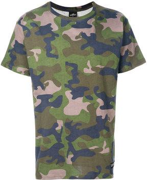 Les (Art)ists camouflage print T-shirt