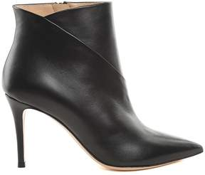 Lerre Leather Pointed Booties