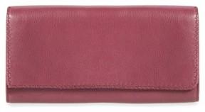 Hobo Women's Era Wristie Leather Wallet - Purple