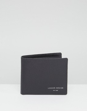 New Look Leather Wallet In Black
