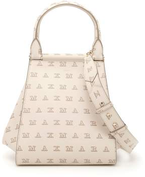 Max Mara Medium Logo Shopping Bag
