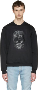 Markus Lupfer Black Skull Pullover