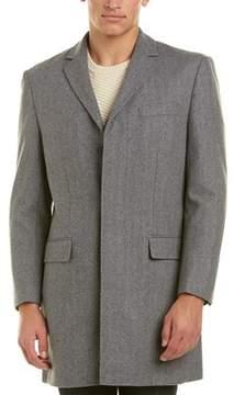 Hart Schaffner Marx Maitland Wool-blend Coat.