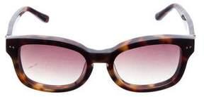 Linda Farrow Tortoiseshell Gradient Sunglasses