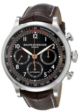 Baume & Mercier BMMOA10067 Brown Capeland Analog Display Automatic Men
