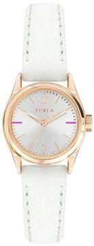 Furla Women's Eva Leather Strap Watch, 25mm