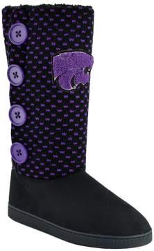 NCAA Women's Kansas State Wildcats Button Boots