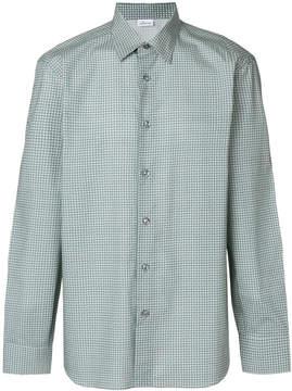 Brioni patterned shirt