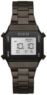 GUESS Black Retro Digital Watch