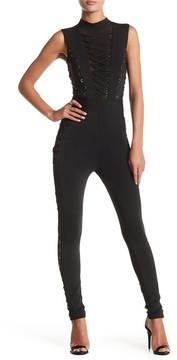 Wow Couture Crisscross Bodycon Jumpsuit