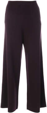 Allude wide leg trousers