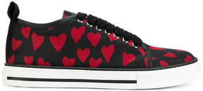 RED Valentino lace up heart sneakers